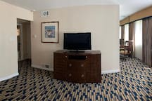 Panoramic view of living room area