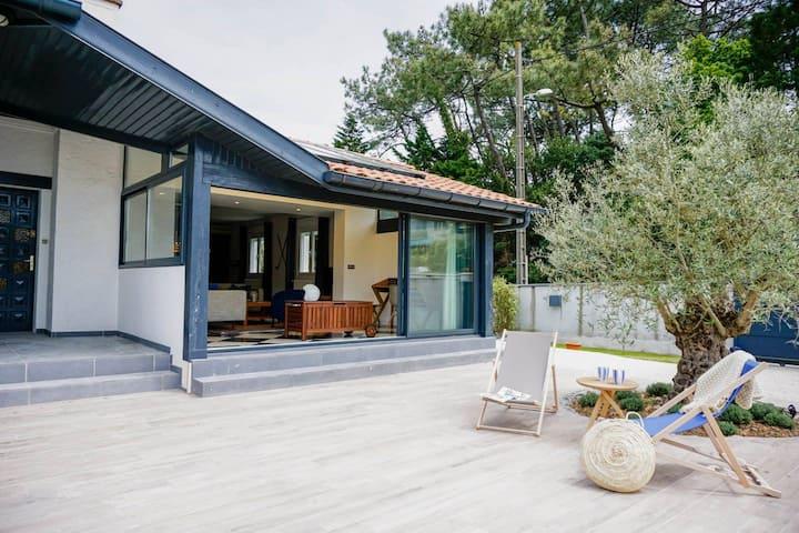 Anglet : Villa à proximité des plages