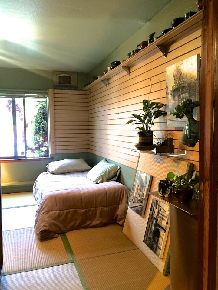 Safe+clean+Parking+3 Bath: Japanese Tatami Room