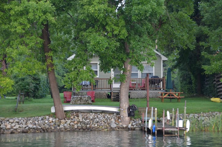 Waterfront Escape with Boat Slip - Ticonderoga