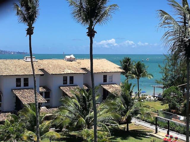 Apartamento Duplex com vista para o mar! - Vera Cruz - Condomínio