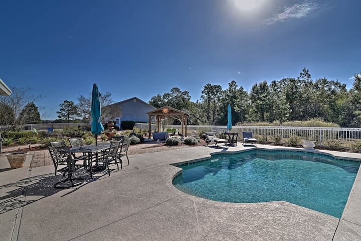 NEW-Floral City Apt by Withlacoochee State Forest!