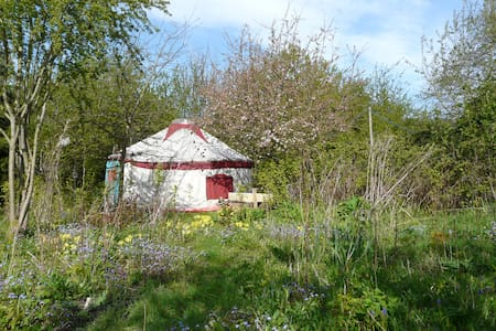The Yurt at Tithe Farm, North Somercotes. - Church End - Yurt