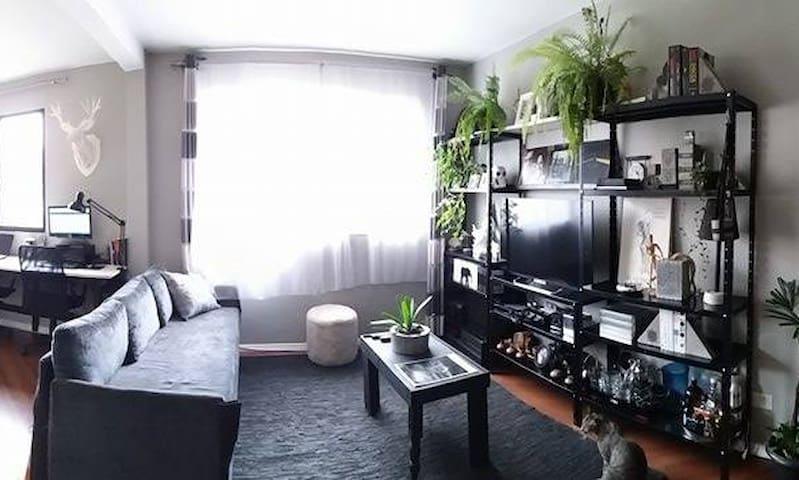 Quarto no Apto dos Artistas - Curitiba - Apartment