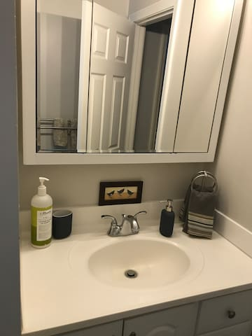 """Cambridge/Kendall Sq Suite a""""home"""" away from home."""