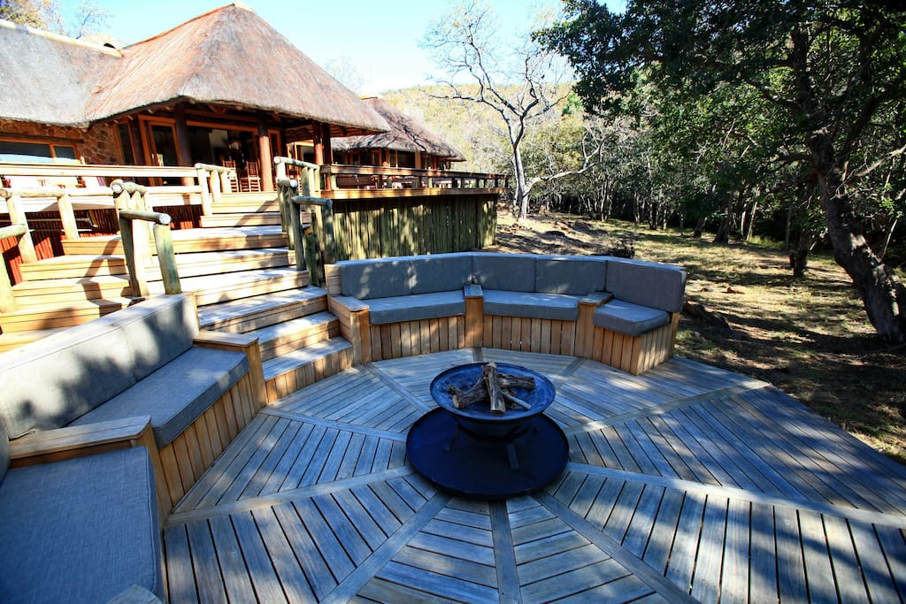 A gorgeous lodge set in a private wildlife game reserve