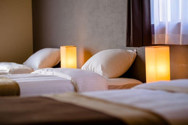 ホテルのような客室
