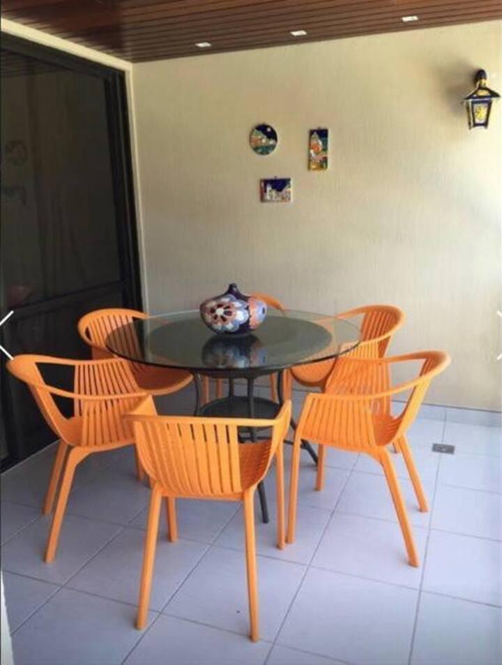 Flat Nannai Residence em Muro Alto/Porto Galinhas