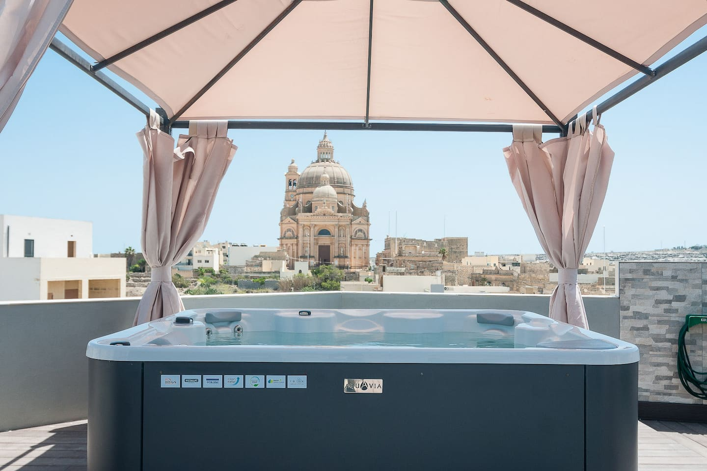 View from Shared Roof-top Solarium