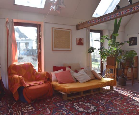 Unique Bohemian Farmhouse Dalfsen
