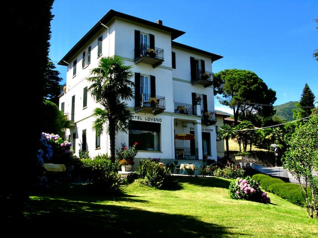 Hotel Loveno,  charming panoramic hotel Lake Como
