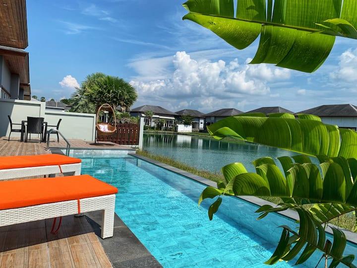 Bang Tao Villa 3 Bedroom Ananda Lake View