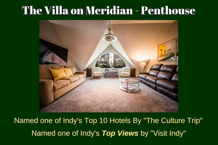Villa on Meridian-Penthouse- Sleeps 2-10