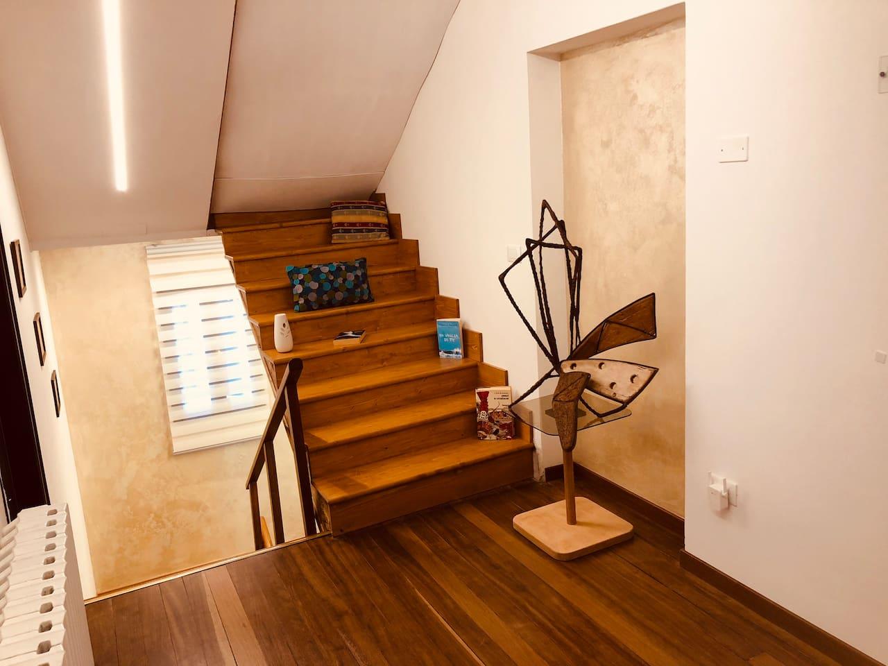 Accesso dalle scale