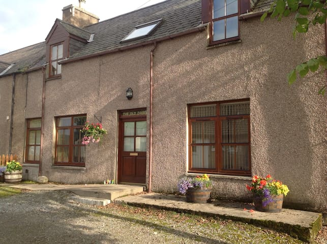 Central Sutherland Old Dairy Lairg - Lairg - Appartement