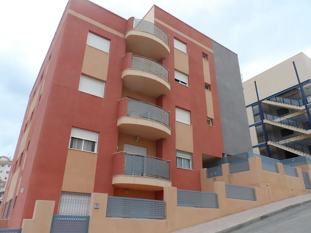 Two Bed Apartment with Communal Pool - Mazarrón - Huoneisto