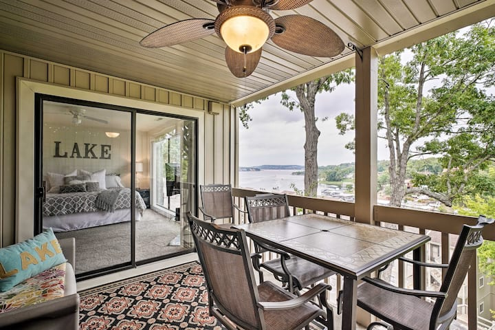 Osage Beach Condo w/ View, Pool & Lake Access