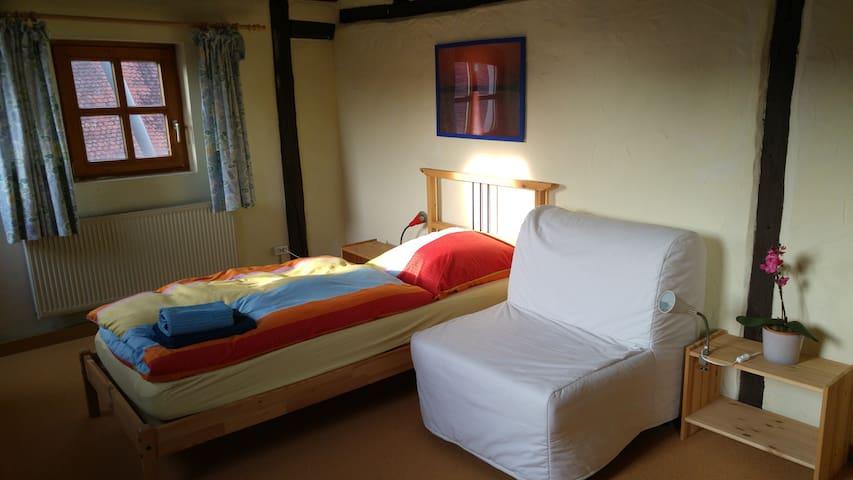Fränkisches Seenland, charmant, ruhig, Zimmer 2