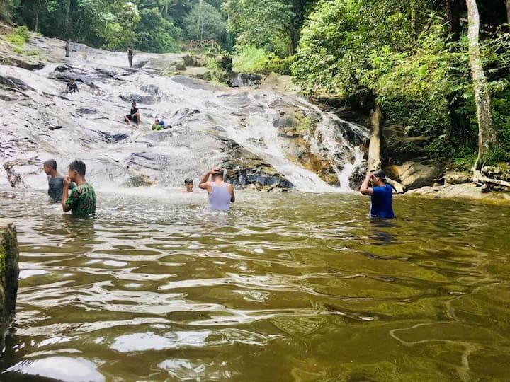 Chalet Air Terjun Baling Kedah - MSM Ceria Chalet