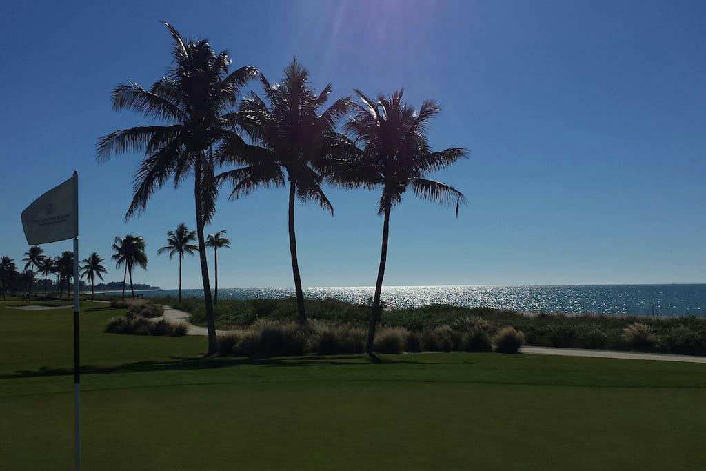 golf course on the gulf