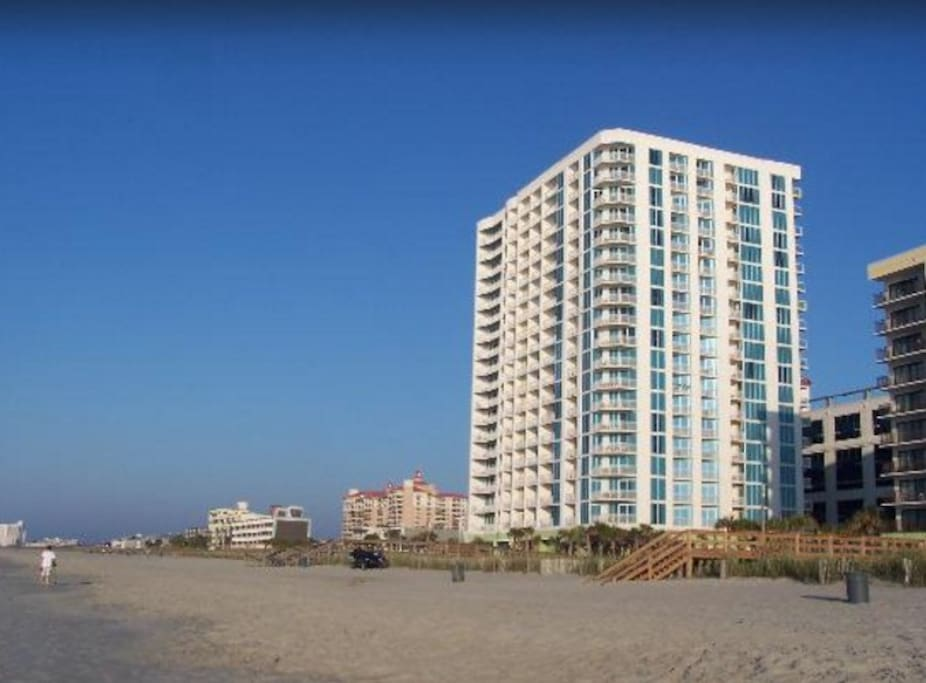 Comfy 2 Bedroom Condo At Resort W Private Beach Condominiums For Rent In North Myrtle Beach