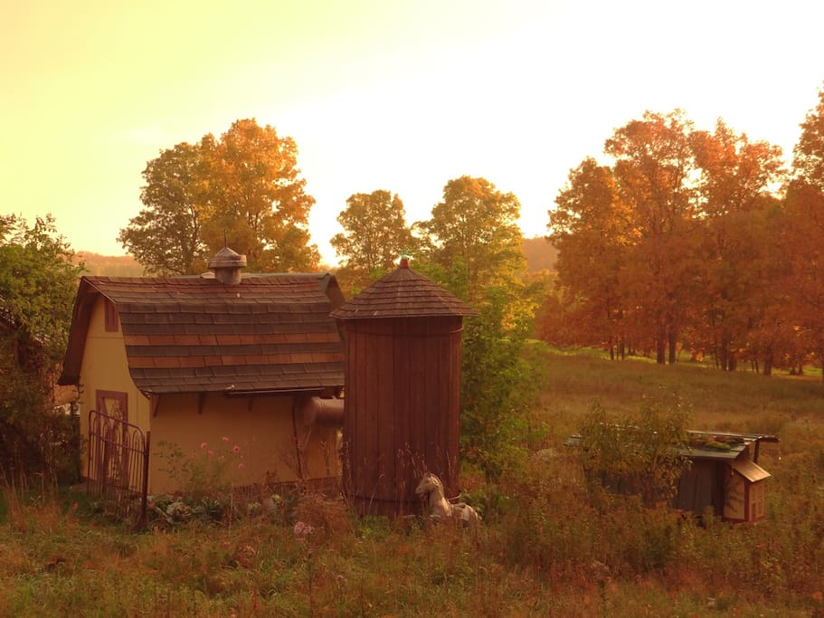 Fall colors are in the air in Karenville