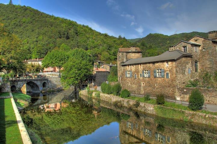 Maison - 10 pers - au cœur d'un village cévenol