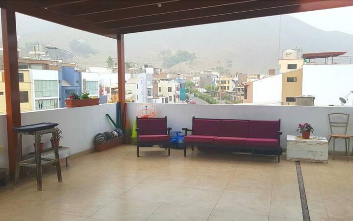 Dpto en La Molina con terraza  para el AÑO NUEVO!
