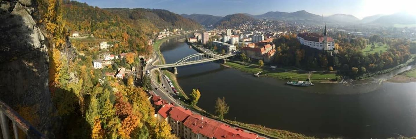 Apartment in Stunning city of Děčín.