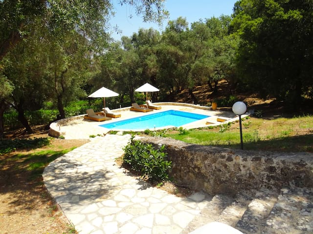 Olive Grove Luxury Villa in Agia Pelagia Corfu