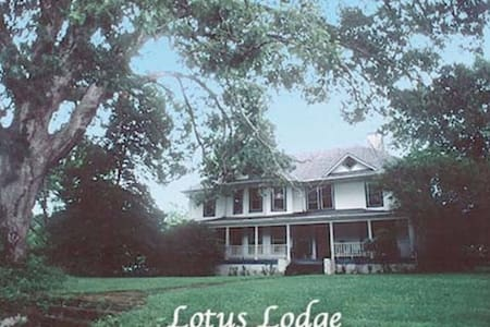 Lotus Lodge II, 15 min from Asheville - Rumah