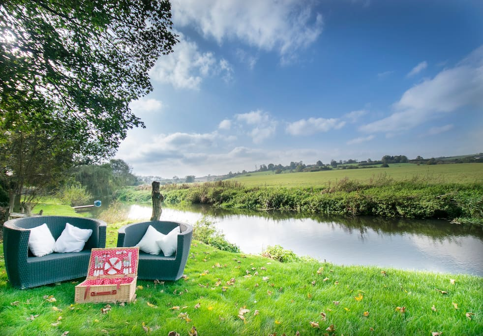 River seating Area/ Garden