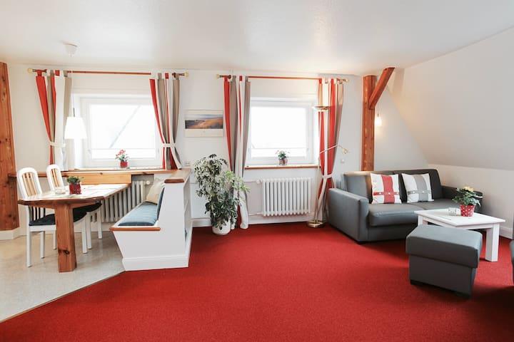 Strandnahes Apartment mit Leuchtturm & Meerblick. - Hörnum (Sylt) - Condo