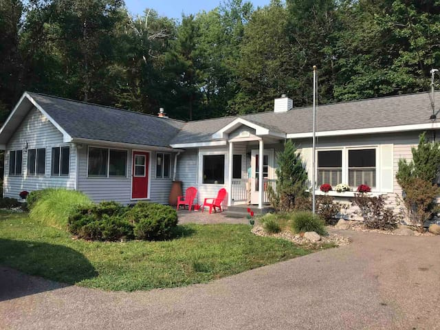 Onekama Vacation home on Portage Point Drive