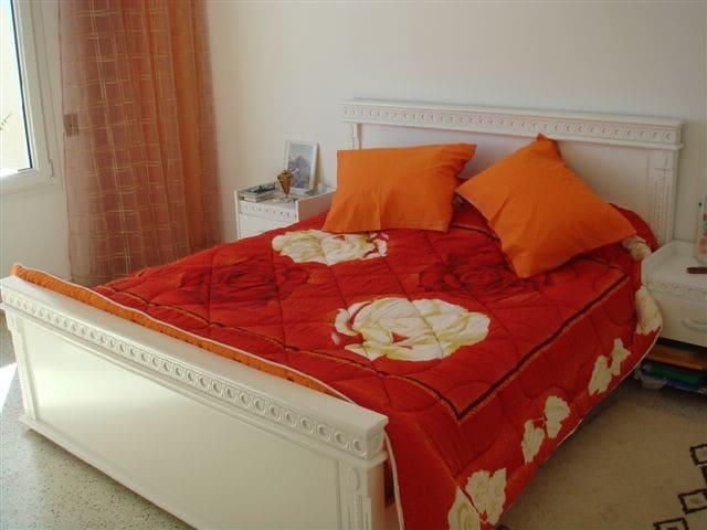 """Chambre à coucher """"La Blanche"""", 2 couchages"""