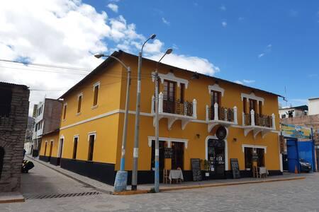 Apartamento plaza de Chivay Valle del Colca AQP