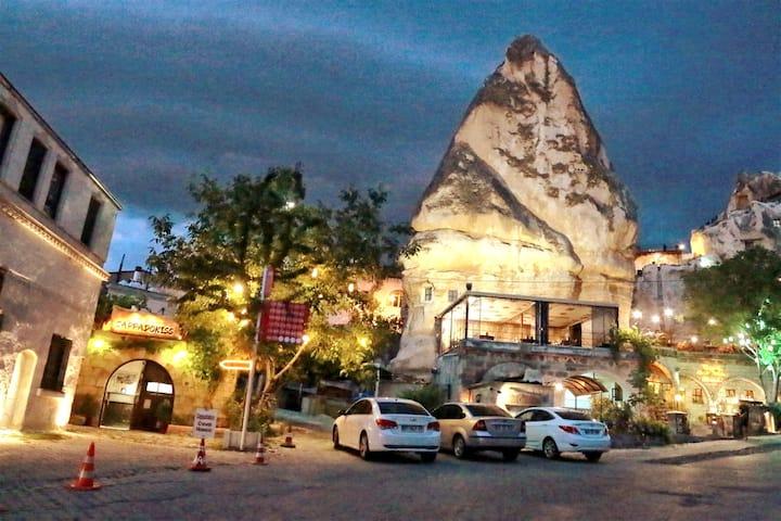 Tabiat Cave House/Triple Cave Room-Üç kişilik oda