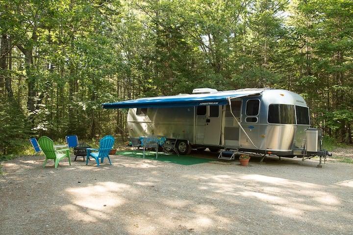 "Coastal Camping in ""Snow Goose II"""