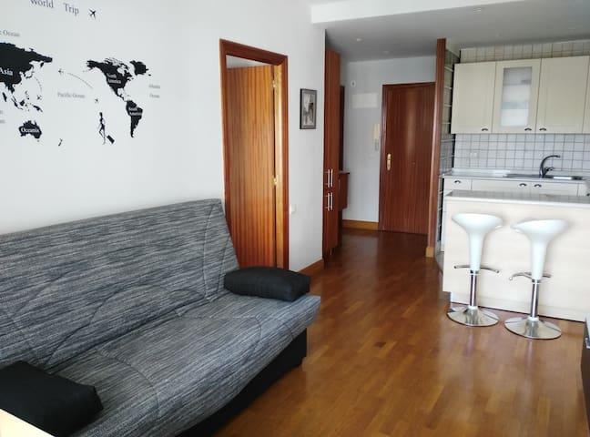 apartamento con piscina y zona dep. - Zarautz - Daire