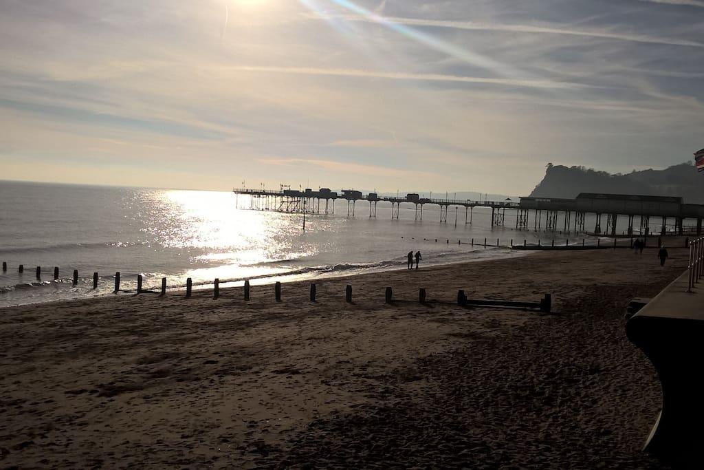 Beautiful Teignmouth Beach