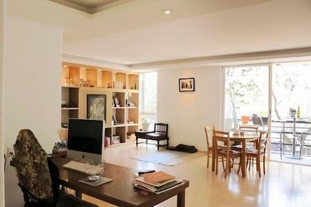 Private room in a cozy apartment - 墨西哥城(Ciudad de México) - 公寓