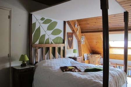 Chambre avec lit à baldaquin - Bonneuil-sur-Marne - Casa