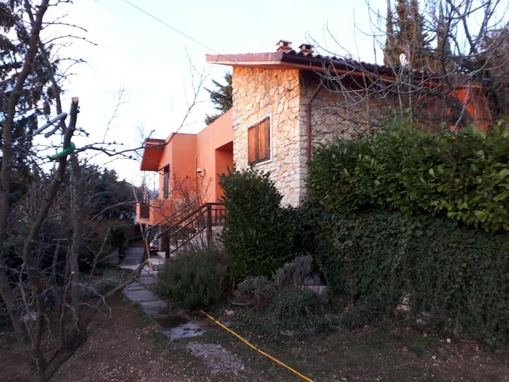 Villa con vista  lago di Garda (n 8 persone)
