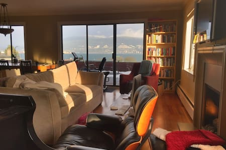 Bedroom in stunning view apartment in Kitsilano - Vancouver - Wohnung