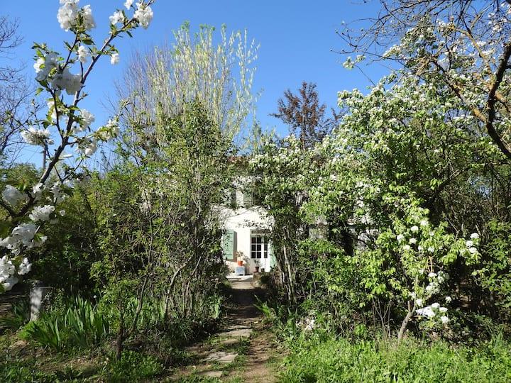 Studio Aix 30m² + jardin bio., proche centre hist.