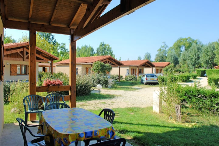 House with 2 bedrooms in Estang, with shared pool, furnished terrace and WiFi
