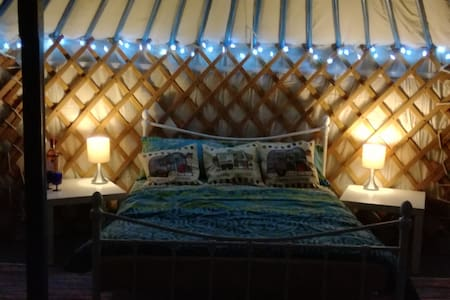 7 Valleys Glamping with peaceful views