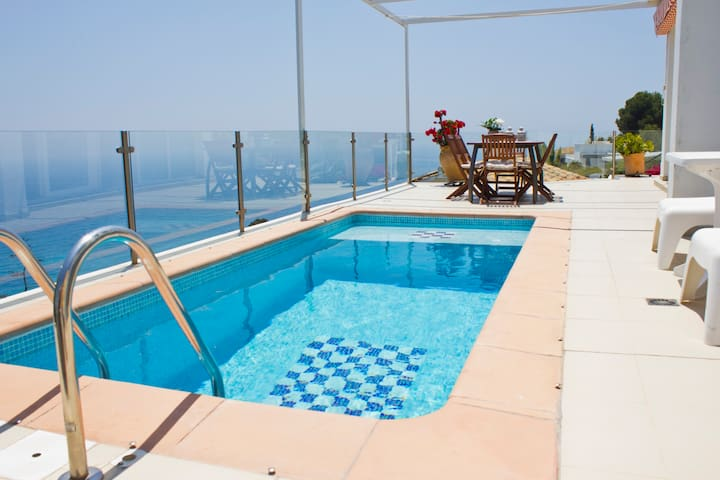 Amazing view with private pool - Almuñécar - Villa