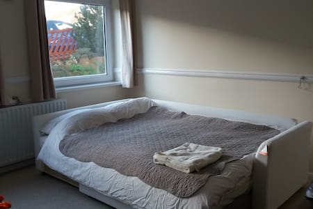 Double bedroom on the edge of Chesterfield