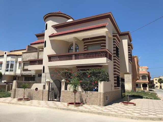 Superbe maison au cœur de Saidia WIFI+TV illimité